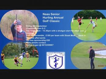 SENIOR HURLING ANNUAL GOLF CLASSIC