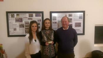 Ruth Clancy Kildare Camogie player of the year 16