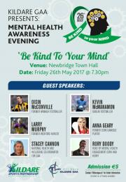MENTAL HEALTH AWARENESS EVENING