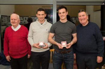 Presentation to Eamonn Callaghan & Eoin Doyle