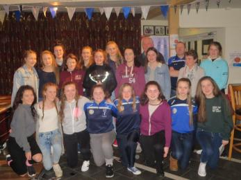 NAAS U15 LADIES WINNERS OF DIV 2 LEAGUE 2015