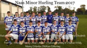 MINOR HURLING CHAMPIONSHIP FINALISTS 2017