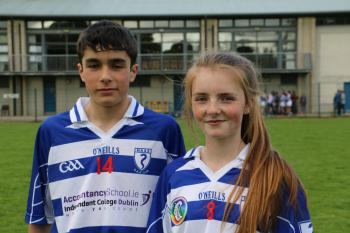 FEILE HURLING AND CAMOGIE CAPTAINS 2016