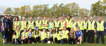 The Hi Viz gang who organised the day