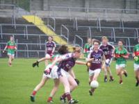 Connacht U-16 A Championship Final Galway v Mayo 27th July 2011._image37879