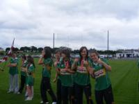 National Feile Teams at Connacht Senior Final 2010. Claregalway & St. Nathy's._image2