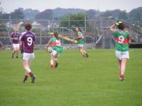 Connacht U-16 A Championship Final Galway v Mayo 27th July 2011._image37905
