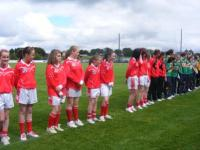 National Feile Teams at Connacht Senior Final 2010. Claregalway & St. Nathy's._image3
