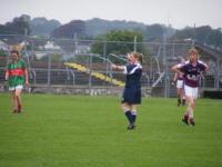 Connacht U-16 A Championship Final Galway v Mayo 27th July 2011._image37853