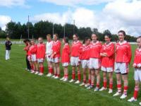 National Feile Teams at Connacht Senior Final 2010. Claregalway & St. Nathy's._image1