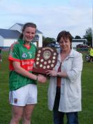 John Miller Connacht Minor B Championship Final 2011. Mayo v Leitrim 2nd July._image35542