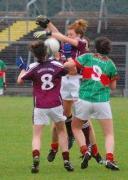 Connacht U-16 A Championship Final Galway v Mayo 27th July 2011._image37613