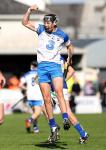 Waterford's Maurice Shanahan celebrates after striking over another long range point for his side.