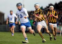 Waterford's Austin Gleeson gets away from Kilkenny's TJ Reid.