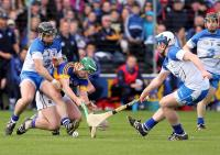 Waterford's Noel Connors & Stephen Bennett and Tipperary's John O'Dwyer.