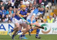 Waterford's Maurice Shanahan gets away from Tipperary's Shane McGrath.