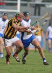 Waterford's Maurice Shanahan tries to get past Kilkenny's Padraig Walsh