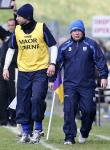 Waterford's Manager Derek McGrath and Selector Dan Shanahan.