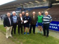 2015-08-04 Club Deise and Waterford GAA Supporters Club Dublin Cheque Presentation