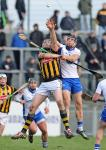 Waterford's Kevin Moran goes high with Kilkenny's Walter Walsh