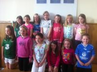 Girls U10s Club Team of the Year 2012
