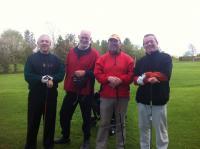 Sunflower Golf Classic Martin Higgins team