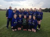 CUFC U18 Girls v Corrib Rangers 28 Feb 2016