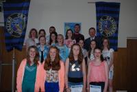 CUFC U14 Girls at Awards day 2013