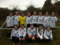 CUFC U14 girls v Kinvara Utd March 2013