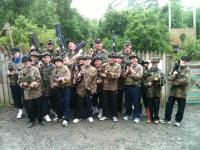 U12B boys at Killary Laser Combat Day
