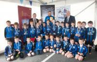 Craughwell United U8 Boys in MOFC Invitational
