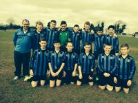 CUFC U14 boys v Oranmore-Maree 22 March 2015