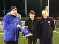 January 2014 - Ronan Nevin U15 with coaches Ger Fahy and Declan Burke