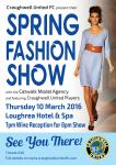 Spring Fashion Show tickets available on the door