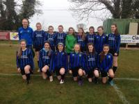 CUFC U14 girls v Corrib Rangers Sat 2 April 2016