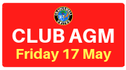 CUFC AGM this Friday 9pm in Cheevers Lounge - All welcome!!