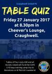 CUFC Table Quiz on Fri 27 Jan 2017
