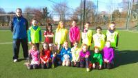 CUFC U10 Girls training on 5 March 2016