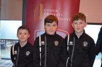 CUFC players Alan Zimmerer, Jamie Collins and Cormac Regan have signed for the new Galway United U13 squad