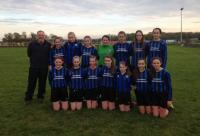 CUFC U16 girls v Mervue United 30 Oct 2016