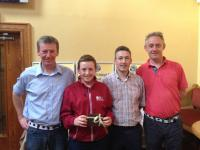 CUFC Golf AmAm winners 2014 - Team 16