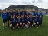 U18 boys 2-1 winners over Athenry in Connacht Shield Final