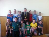 Boys U13B at Club Awards Day 2012
