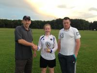 Andrea Tobin Girls U16 Player of the Year