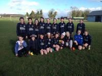 CUFC U12 Girls Blue team v Oughterard 12 March 2017