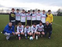 Salthill Devon B 3 v 8 CUFC U18 Boys in Connacht Shield Round 1 on Sunday 4 december