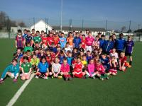 Players enjoying the sunshine at our Easter Camp