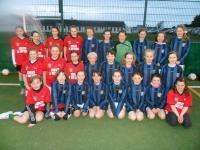 CUFC Girls U12 full squad March 2012