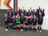 CUFC U12B Girls Div 1 Cup Winners 2 June 2018