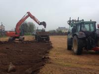 28 April 2014 - development begins